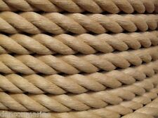 24mm (1 inch approx) Decking Rope man made Hardy Hemp - natural looking