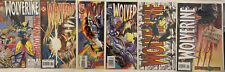 Wolverine #85 89 96 96 97 98 Marvel X-Men 6 Issue Comic Lot Nm