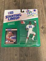 Vintage 1989 Kenner Starting Line Up SLU Cornelius Bennett Buffalo Bills NFL