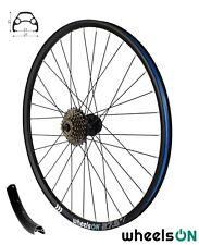 650B 27.5inch wheelsON Rear Wheel MTB Disc +7 Spd Shimano Freewheel 32H Black QR