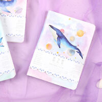 """""""Universe Whale"""" 1pc Cute Monthly Daily Planner Agenda Diary Journal Free Note"""
