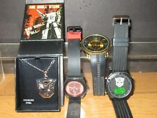 Transformers Lot of 3 RARE Watches and Necklace Pendant Men's Works NICE
