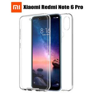 Funda Proteccion 360º Gel TPU Hibrida para Xiaomi Redmi Note 6 Pro