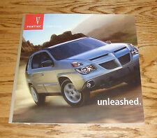 Original 2004 Pontiac Aztek Deluxe Sales Brochure 04