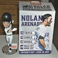 2017 Colorado Rockies Nolan Arenado Father's Day Walk-Off Bobble Head SGA