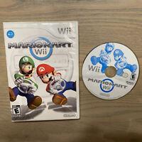 Mario Kart Wii (Nintendo Wii, 2008) -  TESTED & WORKING!!