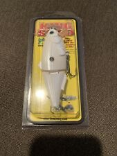 Strike King King Shad Jointed Lure WHITE Pearl DISCONTINUED SWIMBAIT KSHAD5