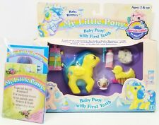 My Little Pony Baby Pony With First Tooth Baby Bouncy 1986 Hasbro NEW