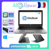 "Hp EliteBook 820 G2 (Reconditionné) 12"" Core i5 2,3 GHz - HDD 500 Go - 8 Go RAM"