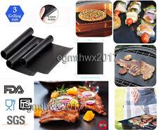 3 Stück Dauer-BBQ-Grillmatte & Antihaft-Bratfolie aus Glasfaser Dauerbackfolie