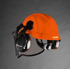 husqvarna chainsaw pro forest helmet ratchet system and visor oem from dealer