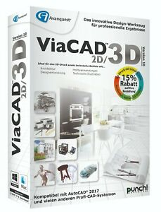 ViaCAD 2D/3D 10 Standard für WIN / MAC  Download (Key) EAN 4023126118905