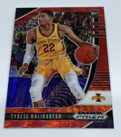 2020-21 PANINI PRIZM DRAFT ROOKIE RC RED PRIZM WAVE TYRESE HALIBURTON #10