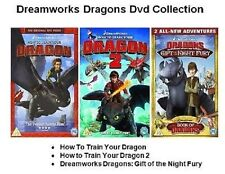 HOW TO TRAIN YOUR DRAGON DVD PART 1 2 GIFT OF NIGHT FURY 3 Movie Film New UK