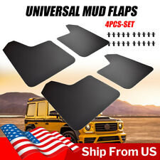4x Universal Mud Flaps For Car Pickup SUV Mudflaps Mudguards Splash Guards