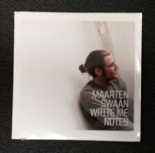 MAARTEN SWAAN Write Me Notes NEW Music CD Sealed FREE SHIPPING