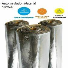Heat Sound Shield Deadener Insulation Material Self Adhesive 1/4