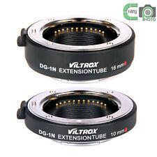 Viltrox DG-N1 Auto Focus Extension Tube 10+16mm Nikon 1 V1 J1 V2 Camera Adapter