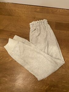 Abercrombie & Fitch Classic Sweatpants, Heather Grey, Size Medium