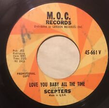 SCEPTERS Love You Baby All The Time/Little Girls Were Made To Love 45 M.O.C. mp3