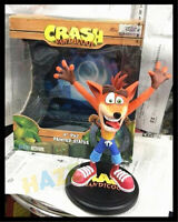 9'' Crash Bandicoot  Painted Statue First 4 Action Figure PVC Model Toy No Box