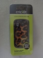 Cricket Samsung Messager Touch Leopard Protective Case SKU CPC467 Brand New