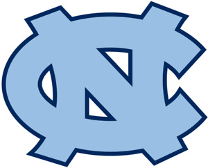 UNC TAR HEELS cornhole set of 2 decals ,Free shipping, Made in USA #9