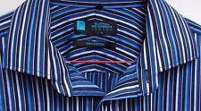 Burton Cotton Blend Double Cuff Formal Shirts for Men