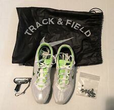 New Nike Track & Field Shoes 7.5 with bag, spikes and wrench