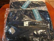 PACKING CUBE BAG LOT 2 Baglane MEDIUM TechLife Nylon Travel Luggage NAVY BLUE