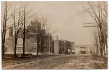 Real Photo Postcard Church on Main Street in Dundee, New York~107188