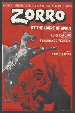 ZORRO AT THE COURT OF SPAIN Spaghetti Western herald