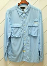 EXOFFICIO Roll-Up Long Sleeve Shirt_Sz.XL_Mesh Vents w/Flaps_Flip-up Collar