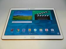 Samsung Galaxy Tab S SM-T807V 16GB, Wi-Fi + 4G Cellular (Verizon) - White Great!