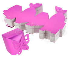 50 x Butterfly Favor Gift Candy Boxes Cake Style Wedding Party Baby Shower Www
