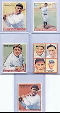(25) BABE RUTH 1933-34 ROOKIE CARD REPRINTS MIXED LOT! NEW YORK YANKEES!