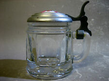 Lidded miniature glass jug