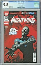 Nightwing #70 CGC 9.8 2nd Second Printing Edition Joker Wars Perkins Cover