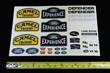 Decals for 1/10 Land Rover Defender D90 D110 body Rc4Wd Trx4