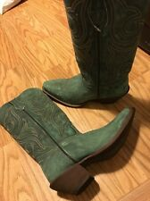 Durango Seafoam Green Cowgirl Western Leather Boots Women's 8M 8