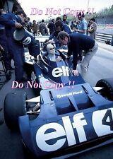 Francois Cevert Tyrell F1 Portrait 1973 Photograph 4