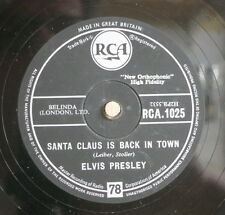 Elvis Presley / Santa Bring My Baby Back & Santa Claus Is Back In Town (0209-14)