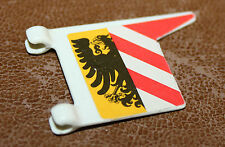 Playmobil accessoire vintage drapeau aigle chevalier moyen âge 3409 3380 ref hh