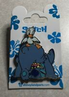 Disney DLP DLRP Paris Stitch Bent Over with Duckling on Butt Pin