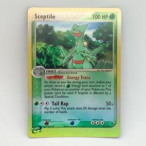Sceptile 20/109 - Reverse Holo Rare - Ruby & Sapphire - Pokemon Card - EXC/ NM