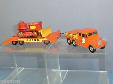 "MATCHBOX ""King Size modello no.k8-1 motrice & Crawler Trattore"" Laing 2nd VER"