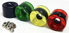 70mm RASTA Wheels SKATEBOARD LONGBOARD CRUISER 78a WITH ABEC 5 BEARINGS