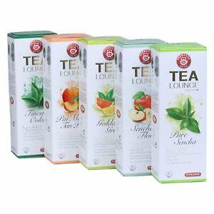 43,54€/kg Teekanne Tealounge Kapseln- Grüner Tee Sortiment 5 Sorten (40 Kapseln)