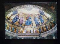 2 ROMA - BASILICA OF S. PAUL - MOSAIC OF APSIS - POSTCARD