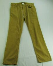 Gap 1969 Men's Brown Straight Corduroy Pants MSRP $59.95